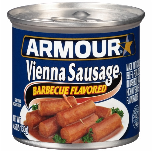 Armour Barbecue Flavored Vienna Sausage Perspective: front