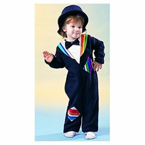 RG Costumes 70039-T Mr. Hobo Pajama - Toddler Perspective: front