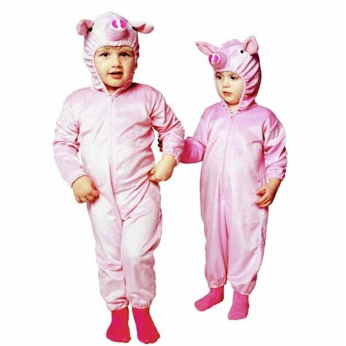 RG Costumes 70086-T Pink Piggy Costume - Size Toddler Perspective: front