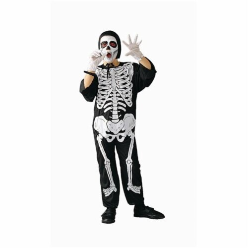 RG Costumes 90000-S Skeleton Boy Costume - Size Child-Small Perspective: front