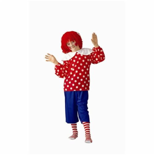 RG Costumes 90028-S Rag Doll Boy Costume - Size Child-Small Perspective: front