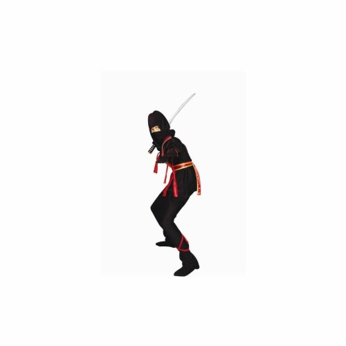 RG Costumes 90139-R-S Ninja Master - Red Costume - Size Child-Small Perspective: front