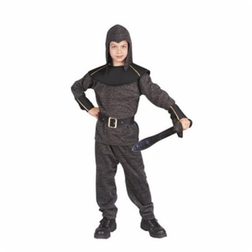 RG Costumes 90149-S King Arthur Child Costume, Small - Silver Perspective: front