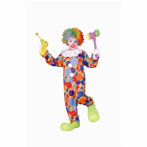 RG Costumes 90202-S Polka Dots Clown Costume - Size Child-Small Perspective: front