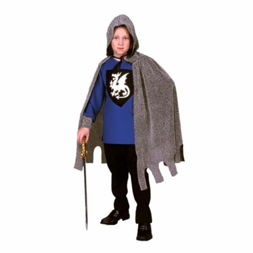 RG Costumes 90248-BL-S Blue Medieval Knight Costume - Size Child-Small Perspective: front