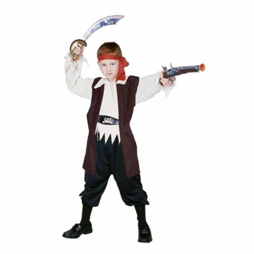 RG Costumes 90271-S Caribbean Pirate Boy Costume - Size Child-Small Perspective: front