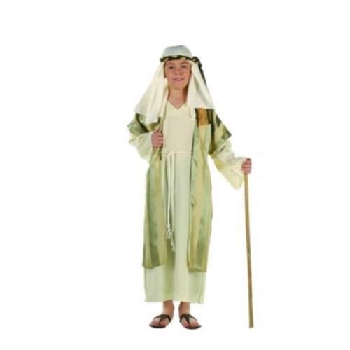 RG Costumes 90286-S Deluxe Shepherd Costume - Green - Size Child Small 4-6 Perspective: front