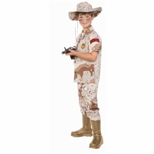 RG Costumes 90362-S Desert Hero Child Costume - Size S Perspective: front