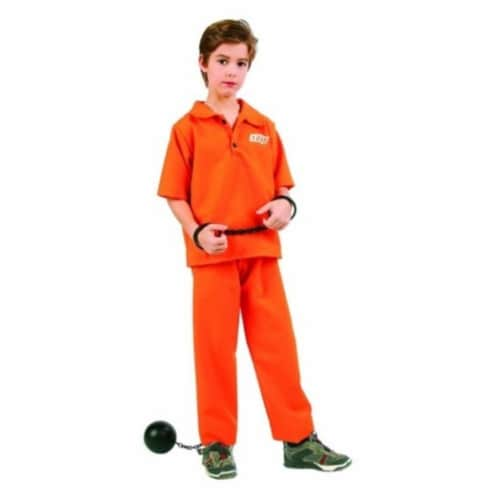 RG Costumes 90419-S Not Guilty Costume - Size Child Small 4-6 Perspective: front