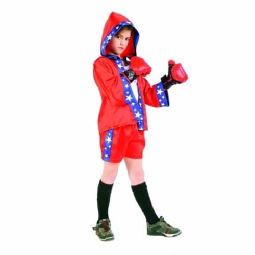 RG Costumes 90441-S Boxer Costume - Size Child Small 4-6 Perspective: front