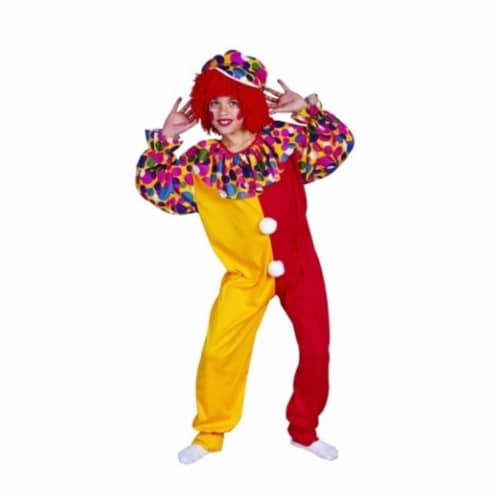 RG Costumes 90002-M Circus Clown Costume - Size Child Medium 8-10 Perspective: front
