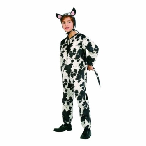 RG Costumes 90023-M Cow Costume - Size Child Medium 8-10 Perspective: front