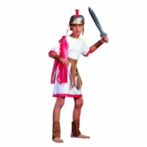 RG Costumes 90027-M Roman Gladiator Costume - Size Child Medium 8-10 Perspective: front