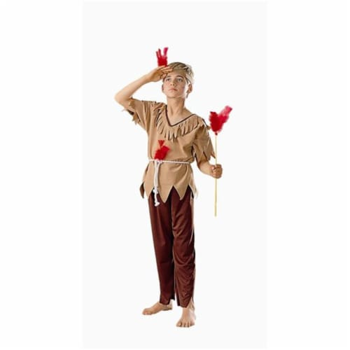 RG Costumes 90042-M Native American Brave Costume - Size Child-Medium Perspective: front