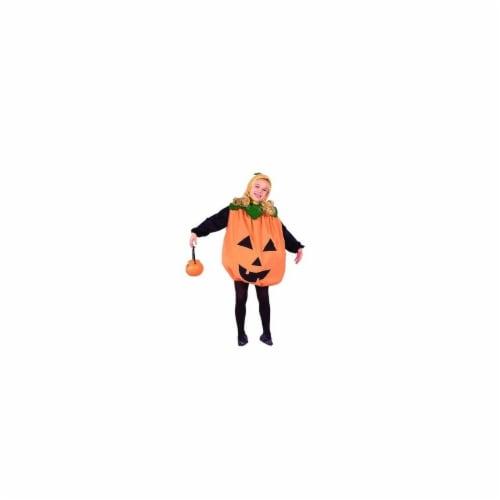 RG Costumes 90043-M Pumpkin Costume - Size Child Medium 8-10 Perspective: front