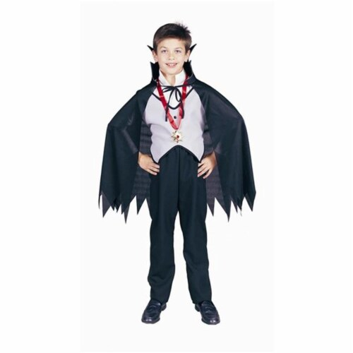 RG Costumes 90112-M Dracula Boy Costume - Size Child-Medium Perspective: front