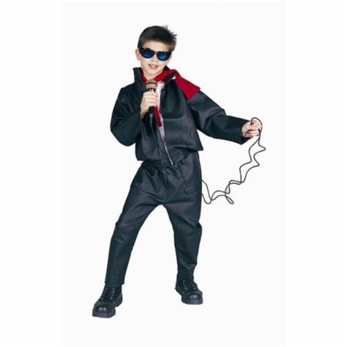 RG Costumes 90152-M T-Bird Leatherlike Jacket Costume - Size Child-Medium Perspective: front
