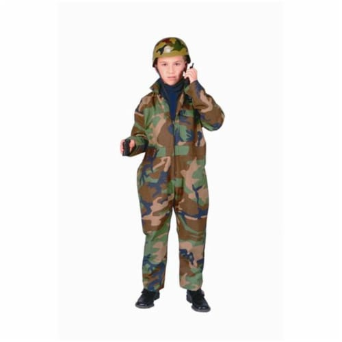 RG Costumes 90166-M Special Forces Costume - Size Child-Medium Perspective: front