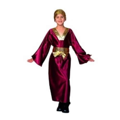 RG Costumes 90183-M Wiseman Costume - Wine - Size Child Medium 8-10 Perspective: front
