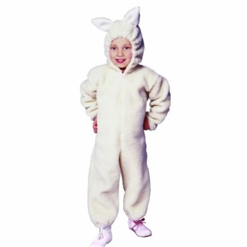 RG Costumes 90185-M  Ba Ba Lamb Costume - Size Child Medium 8-10 Perspective: front