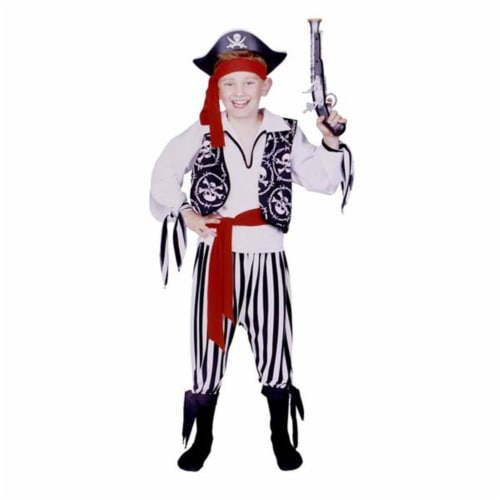 RG Costumes 90209-M Buccaneer Pirate Boy Costume - Size Child-Medium Perspective: front