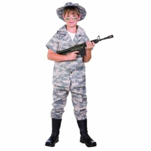 RG Costumes 90367-M Digital Hero Child Costume - Size M Perspective: front
