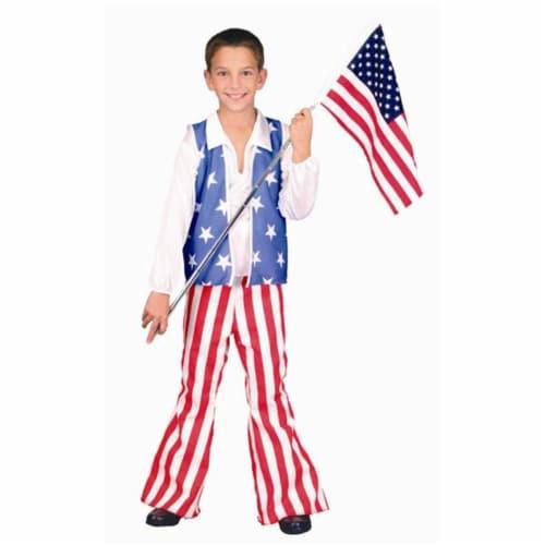 RG Costumes 90912-M Patriotic Hero Costume - Size Child-Medium Perspective: front