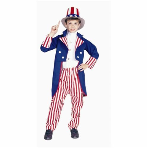 RG Costumes 90913-M Uncle Sam Costume - Size Child-Medium Perspective: front