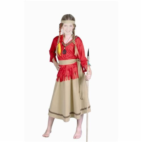 RG Costumes 91060-S Native American Girl Costume - Size Child-Small Perspective: front