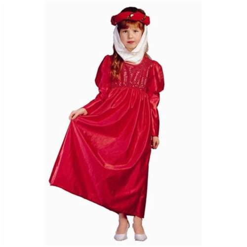 RG Costumes 91144-BL-S Renaissance Maiden Blue Costume - Size Child-Small Perspective: front