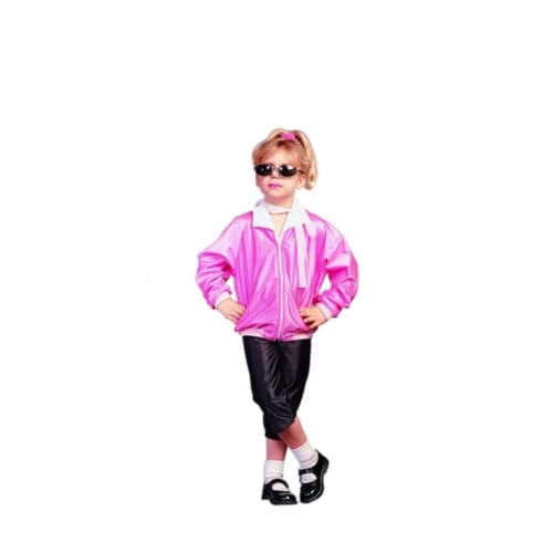 RG Costumes 91150-S 50s Pink Lady Costume - Size Child-Small Perspective: front