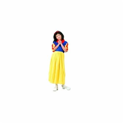 RG Costumes 91204-S Deluxe Snow White Costume - Size Child Small 4-6 Perspective: front