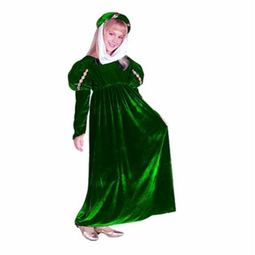 RG Costumes 91226-GR-S Renaissance Princess Green Costume - Size Child-Small Perspective: front