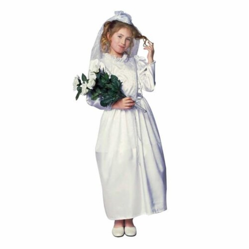 RG Costumes 91241-S Glamour Bride Costume - Size Child-Small Perspective: front