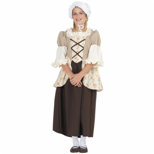 RG Costumes 91361-S Small Child Colonial Bella Custume Perspective: front