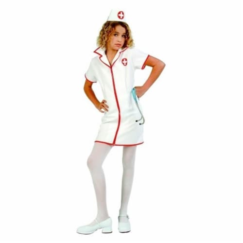 RG Costumes 91439-S Cute-T-Nurse Costume - Size Child Small 4-6 Perspective: front