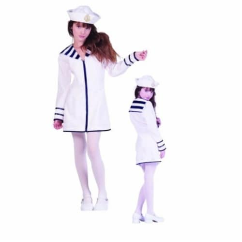 RG Costumes 91464-S Sailor Girl Costume - Size Preteen Small 12-14 Perspective: front