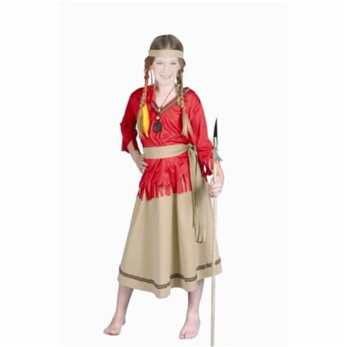 RG Costumes 91060-M Native American Girl Costume - Size Child-Medium Perspective: front