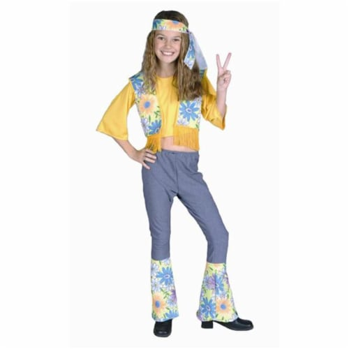 RG Costumes 91069-M Flower Child Costume - Size Child-Medium Perspective: front