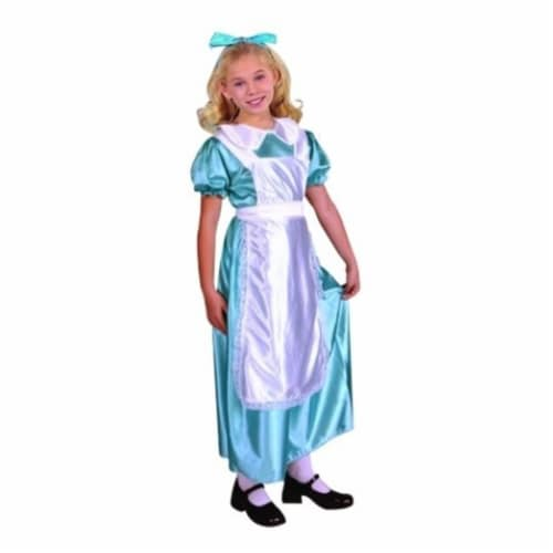 RG Costumes 91090-M Alice Blue Gown Costume - Size Child Medium 8-10 Perspective: front