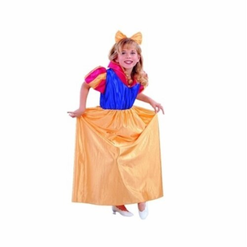 RG Costumes 91104-M Snow White Costume - Size Child Medium 8-10 Perspective: front