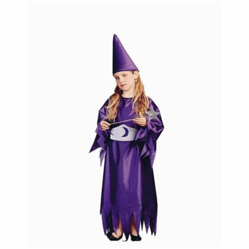 RG Costumes 91113-M Merlina Costume - Size Child-Medium Perspective: front
