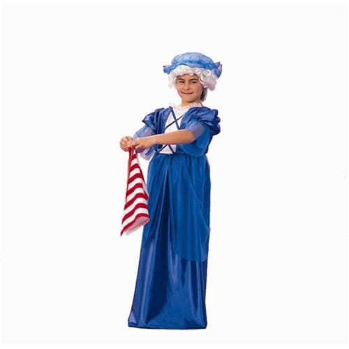 RG Costumes 91131-M Colonial Lady Costume - Size Child-Medium Perspective: front