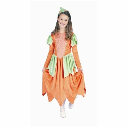 RG Costumes 91143-M Pumpkin Princess Costume - Size Child-Medium Perspective: front