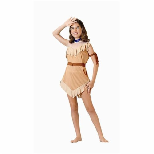 RG Costumes 91160-M Native American Girl Costume - Size Child-Medium Perspective: front
