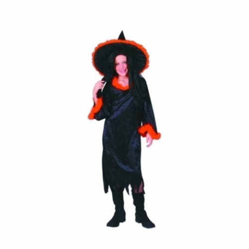 RG Costumes 91172-M Gothic Witch Costume - Size Child Medium 8-10 Perspective: front
