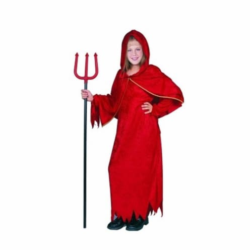 RG Costumes 91185-M Devil Girl Costume - Size Child Medium 8-10 Perspective: front
