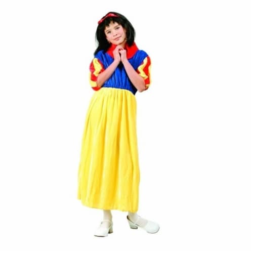 RG Costumes 91204-M Deluxe Snow White Costume - Size Child Medium 8-10 Perspective: front
