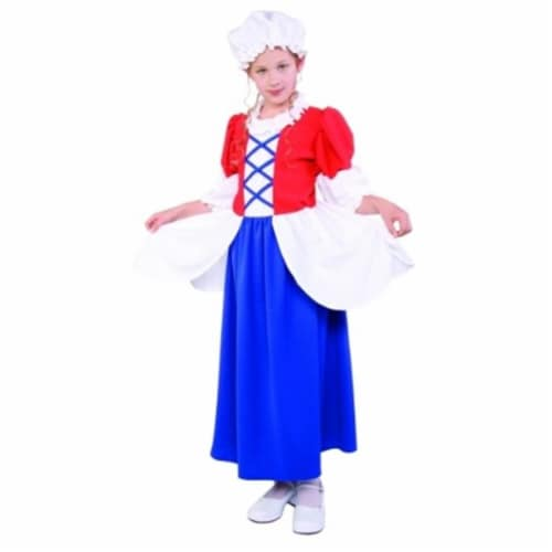 RG Costumes 91216-M Besty Ross Child Costume - Size M Perspective: front