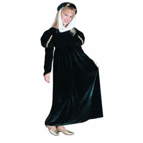RG Costumes 91226-BL-M Renaissance Princess Blue Costume - Size Child-Medium Perspective: front